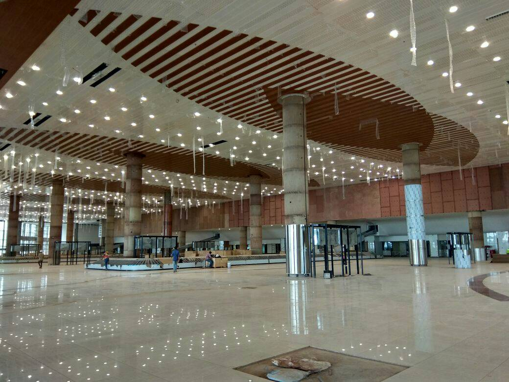Kannur Airport was inaugurated in December 2018.